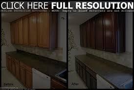 Stripping Kitchen Cabinets Restaining Oak Cabinets Darker Floor Decoration