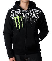 fox monster squatch chop black hoodie zumiez