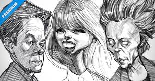 narrated rough thumbnail sketches u2013 caricature examples proko