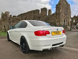 Bmw M3 Coupe - used white bmw m3 for sale swansea