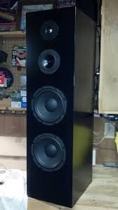8 ohm home theater speakers 4 driver 3 way floor standing tower speaker parts express