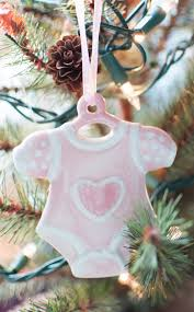 infant loss ornament and their christmas tree and ornaments