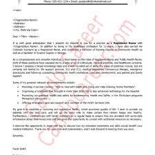 Cover Letter For New Grad Nurse Wonderfull Nursing Cover Letter Example U2013 Letter Format Writing