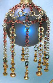 jump ring ornaments chain maille jewelry patterns