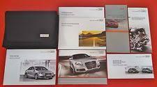 2010 audi a4 owners manual repair manuals literature for audi ebay