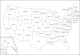 United States Map With Alaska by United States With Alaska And Hawaii Free Map Free Blank Map