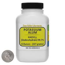 buy alum online potassium alum kal so4 2 99 7 acs grade powder 8 oz