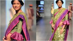Drape A Sari How To Wear Saree During Pregnancy Saree Guide