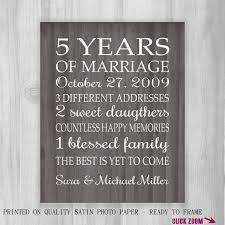 gift ideas for 5 year wedding anniversary best 25 5th