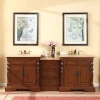 shop large double bath sink vanities 73 u2013 95 inches with free