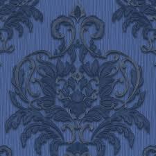 Schlafzimmer Tapete Blau Vliestapete Blau Barock Dieter Bohlen 02437 30