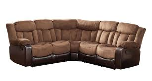 Cozy Sectional Sofas by Recliners Charming Power Recliner Leather Sofa Photos Alden