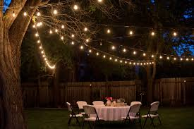backyard lighting for a party home interior ekterior ideas