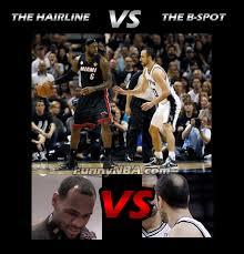 Lebron Headband Meme - heat vs spurs 2013 finals game 6 funny clips nba funny moments