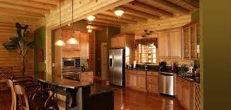 Log Home Kitchens Log Home Basement Decorating Ideas Home Ideas