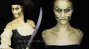 Davy Jones Halloween Costume Pirate Davy Jones Makeup Tutorial