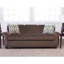 Brown Sleeper Sofa by Mason Fabric Queen Sleeper Sofa Truffle Brown
