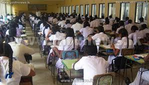 sri lankan l gce a l examination begins today hiru news srilanka s number