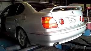 1998 lexus gs400 1998 lexus gs400 on the dyno exhaust sound with results