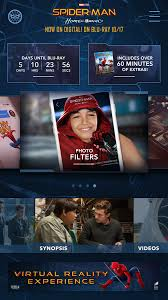 spider man homecoming app android apps google play