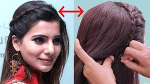 download hairstyle tutorial videos actress samantha inspired hairstyle tutorial quick party hairstyle