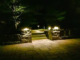 Patio Pillar Lights Low Voltage Lighting Landscaping Patios And Retaining Walls