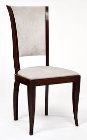 Italian Leather Dining Chairs Set Of Eight Deco Velvet Dining Chairs Jean Marc Fray