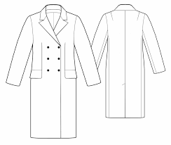 coat dress sewing pattern 5511 made to measure sewing pattern