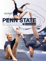 2009 10 penn state women u0027s gymnastics media guide by penn state