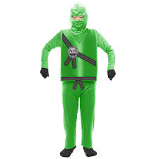ninja halloween costume kids green ninja child costume boys costumes kids halloween costumes