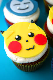 Cake Decorating Figures How To Make Pokémon Cake And Cupcakes Mom Loves Baking
