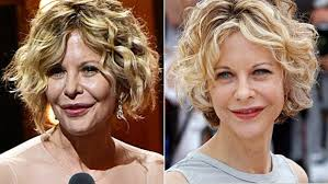 meg ryan s hairstyles over the years what happened to meg ryan s face meg ryan