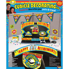 cubicle decorating kits domagron retirement party cubicle decorating kit