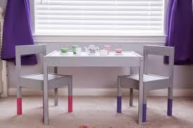 little tea table set mybellabug ikea hack kid s latt table