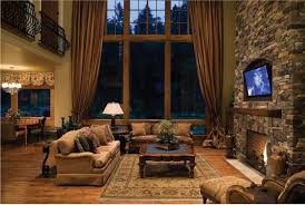 rustic decorating ideas for living rooms living room rustic living room design ideas with drapery diy
