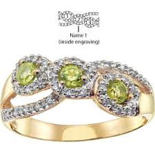 mothers rings pictures images Brocade mother 39 s ring 14kt yellow gold with 3 genuine birthstones jpg