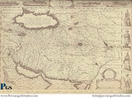 Tehran Map From 1700 A D To The Modern From 1700 A D To The Modern Persian