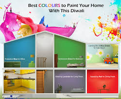paint your home infographic best colours to paint your home with this diwali
