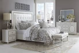 bedroom sets white bedroom sets sky tower bedroom set white cloud by michael amini