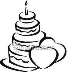 wedding cake clipart black and white wedding cake royalty free clipart picture