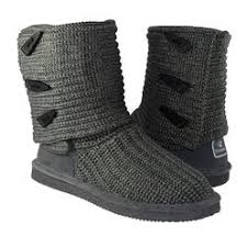 bearpaw s boots sale bearpaw s knit fashion boot grey