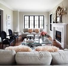 black window trim family room contemporary with grey barstools
