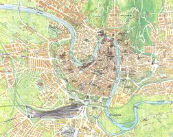 Map Italy Silhouettes Italian Cities by Udine Italy Map