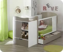 chambre bébé modulable lit bébé évolutif jooly et blanc