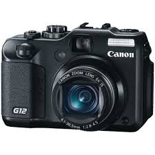 best low light point and shoot canon g12 10 mp digital camera with 5x optical image stabilized zoom