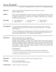 exles of customer service resume at home customer service representative resume sales