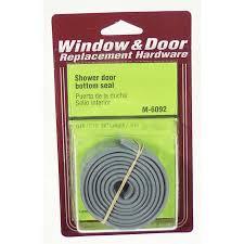 shower door bottom seal cool aluminum or wooden dooror shower