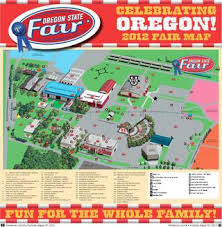 map of oregon state fairgrounds oregon state fair map 2012 by statesman journal issuu