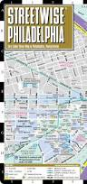 Map Of Philly Streetwise Philadelphia Map Laminated City Center Street Map Of