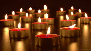 virtual candles relaxing burning tea lights with soothing wind